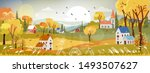 fantasy panorama landscapes of... | Shutterstock .eps vector #1493507627