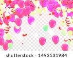 happy birthday greeting card... | Shutterstock .eps vector #1493531984