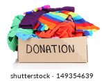 donation box isolated on white | Shutterstock . vector #149354639