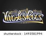 vector logo for las vegas ... | Shutterstock .eps vector #1493581994
