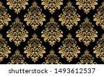 floral pattern. vintage... | Shutterstock . vector #1493612537