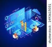 programming web banner. best... | Shutterstock .eps vector #1493615051
