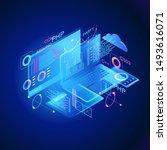 programming web banner. best... | Shutterstock .eps vector #1493616071