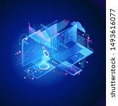 programming web banner. best... | Shutterstock .eps vector #1493616077