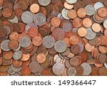 Pile Of The Us Coins