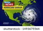 Dorian Hurricane Cyclone On Us...