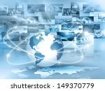 best internet concept of global ... | Shutterstock . vector #149370779