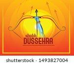 illustration of lord rama...   Shutterstock .eps vector #1493827004