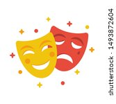 Comedy And Tragedy Masks....