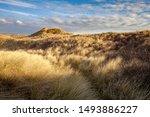 Sand Dunes At Braunton Burrows  ...