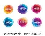 2020 happy new year banner.... | Shutterstock .eps vector #1494000287