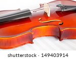 Fiddle And Musical Notebook