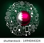 innovation and technology...   Shutterstock . vector #1494044324