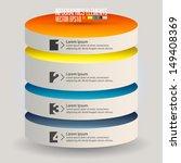 modern infographics template ... | Shutterstock .eps vector #149408369