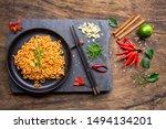 Korean Style Stir Fried Instan...