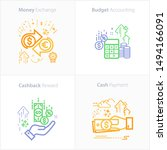 budget accounting icon   money...   Shutterstock .eps vector #1494166091