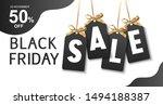 black friday sale design... | Shutterstock .eps vector #1494188387