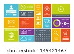 modern colorful user interface... | Shutterstock .eps vector #149421467