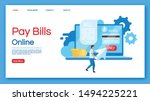 pay bills online landing page...