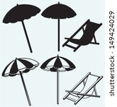 Chair And Beach Umbrella...