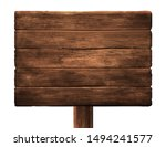 old wooden shield. horizontally ... | Shutterstock .eps vector #1494241577