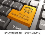 orange project management... | Shutterstock . vector #149428247