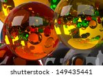 colored balls front view of a... | Shutterstock . vector #149435441