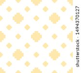 vector minimalist floral... | Shutterstock .eps vector #1494370127