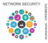 network security infographic...