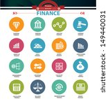 Finance icons,vector | Shutterstock vector #149440031