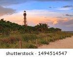The Sanibel Island Lighthouse...
