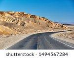 Open Highway In Death Valley...