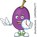 With Clock Winne Fruit With...