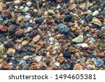 Stones On The Baltic Beach In...