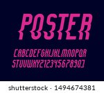 bright vector of stylized  font ...   Shutterstock .eps vector #1494674381