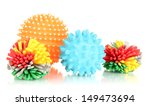 Stock photo rubber toys for pets isolated on white 149473694