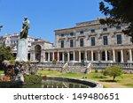 The British Palace At Corfu...