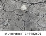 A Grungy Fractured Concrete...