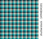Gingham seamless pattern. Texture for plaid, tablecloths, clothes, shirts, dresses, paper, bedding, blankets, quilts and other textile products. Vector illustration EPS 10