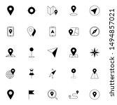gps  maps  travel  navigation... | Shutterstock .eps vector #1494857021