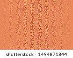 light red  yellow vector... | Shutterstock .eps vector #1494871844
