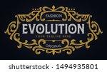 victorian vintage ornament...   Shutterstock .eps vector #1494935801