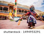 Cham Dances during the Tak Thok festival at Tak Thok Monastery in Ladakh, India