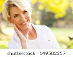 portrait of lovely middle aged... | Shutterstock . vector #149502257