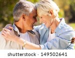 loving middle aged couple... | Shutterstock . vector #149502641