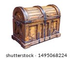 The Old Wooden Chest Is...