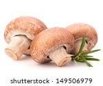 Brown Champignon Mushroom And...