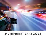 car driving fast | Shutterstock . vector #149513315