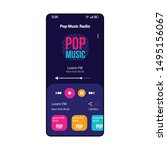pop music radio smartphone...
