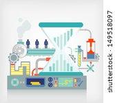 machine business concept | Shutterstock .eps vector #149518097